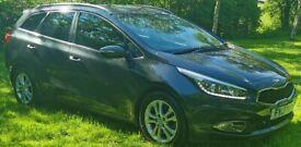 image for  Kia, CEED, Estate, 2013, Manual, 1.6 diesel, 5 door. 130000. 6 speed. fully loaded