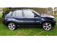 BMW X5 3.0D SE MANUAL 6 SPEED 2005 55, 82000 MILES, SERVICE HISTORY, 2 FORMER KEEPERS
