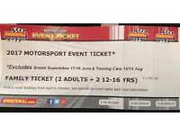 2017 Motorsport Event Ticket