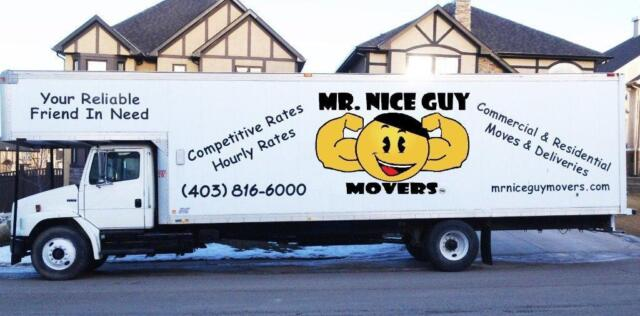 Mr Nice Guy Movers Your 1 Choice For Calgary Furniture