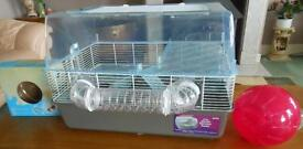 Large Hamster Home with everything you need (except hamster!) many extras!!