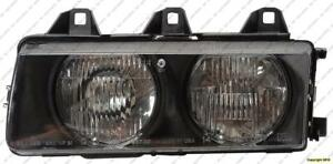 Head Lamp Driver Side Sedan 92-98 High Quality BMW 3-Series (E36) 1992-1998