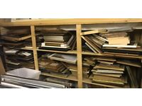 Job lot of picture frames ready made - clearance stock
