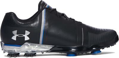 Under Armour Spieth 1 One Golf Shoes Spikes Sz 11  Black Blue Drive 2