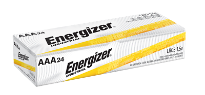 Energizer Industrial EN92 AAA Batteries 24 Pack Exp.12/2029