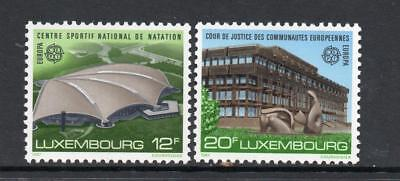 LUXEMBOURG MNH 1987 SG1205-1206 EUROPA