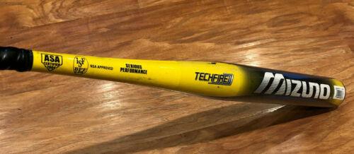 $400 Mizuno Techfire Blur 34 26 Composite Slowpitch Softball Bat Orange Crush OG