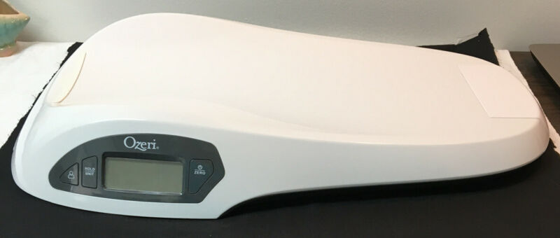 Ozeri All-in-One Digital Baby Scale with Weight & Height Change Detection