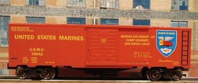ARMY NAVY USMC USAF USCG RMT O Gauge Boxcar Set O-31 Capable Radius New