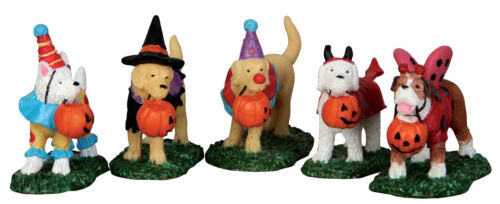 Lemax Trick or Treating Dogs #52301