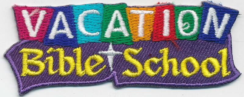 Girl Boy Cub VACATION BIBLE SCHOOL class Fun Patches Crests Badges SCOUT GUIDE