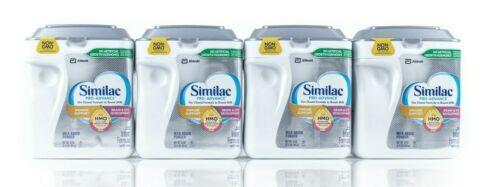 Similac Pro-Advance HMO Infant Formula 0-12 months 34 oz 4-count EXP 01/01/2023