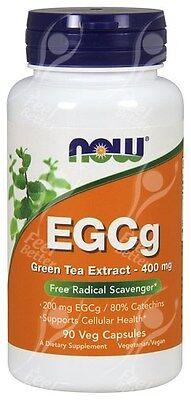 Now Foods EGCg Green Tea Extract x90Vcaps - Vegan Formula ECGC