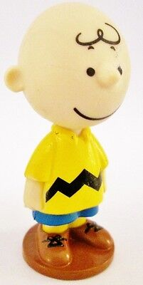 CHARLIE BROWN Peanuts COMIC Cartoon PVC TOY FIGURE Birthday Cake Topper FIGURINE
