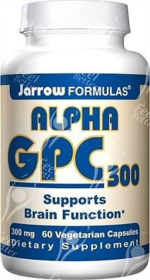 Jarrow, Alpha GPC, 300mg x60Vcaps;- Mental Acuity - Acetylcholine Booster!!