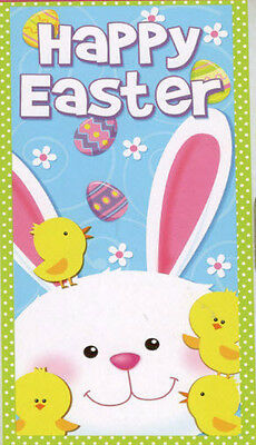 HAPPY EASTER Scene Setter party wall  door poster decoration Bunny Chick Eggs - Easter Scene Setters