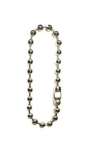 "12mm Ball Chain Necklace Choker 18""  ~ NPS Steel Beads 1/2"