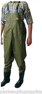 Lineaeffe-Fly-Coarse-Fishing-Chest-Waders-Size-10