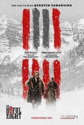 "Hateful Eight The Movie Poster Mini 11""X17"""