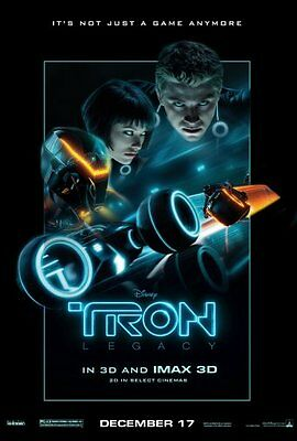 Tron Legacy Movie Poster #A02 Large 24inx36in