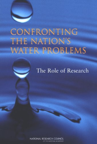 Wstb-Confronting The Nation`S Water Prob  BOOK NEW