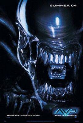 Alien vs Predator Movie Alien Face Advance Poster Repro