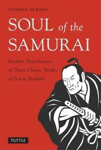 Soul of the Samurai, By Thomas Cleary,in Used but Good condition
