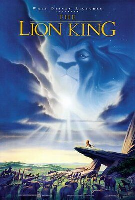 """Lion King Movie Poster #01 24x36"""""""