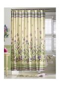 Floral Fabric Shower Curtain