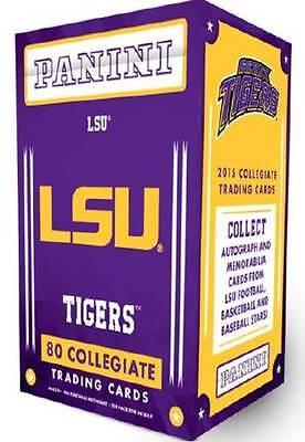 2015 Panini Louisiana State Univ. Tigers  Multi Sport Blaster Box Trading Cards