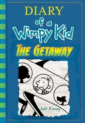 New Diary Of A Wimpy Kid  The Getaway  Book 12  By Jeff Kinney Free Shipping