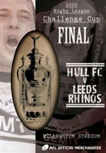 2005 Challenge Cup Final - Hull FC 25 Leeds Rhinos 24 (DVD, 2012)