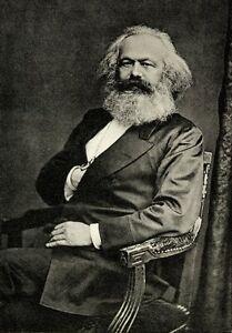 Karl Marx Poster 24in x 36in