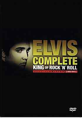 `Elvis Presley: The Complete Vol. 1, 2, 3, 4`  DVD NEW