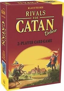 Rivals For Catan Deluxe 2 Player Card Game Klaus Teuber Asm Cn3134