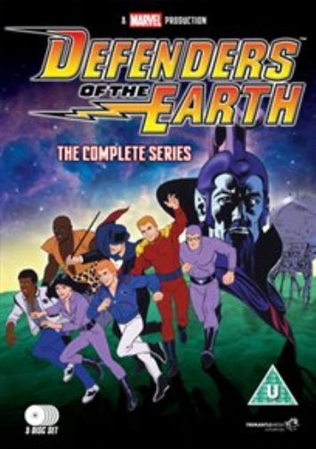 Defenders of the Earth: The Complete Series  DVD NEW