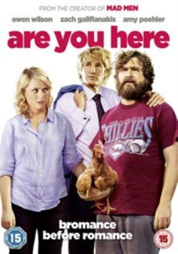 Amy Poehler, Lauren Lapkus-Are You Here DVD NEW