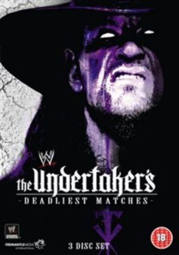WWE: Undertaker's Deadliest Matches DVD NEW