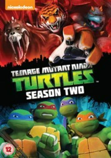 Teenage Mutant Ninja Turtles: Complete Season 2 DVD NEW