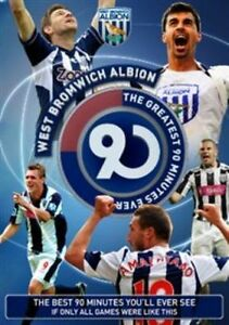 West Bromwich Albion - The Greatest 90 Minutes Ever (DVD, 2013)