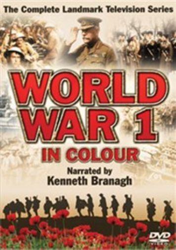 World War 1 in Colour  DVD NEW
