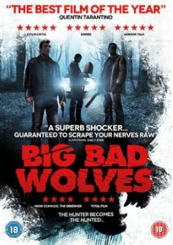 Lior Ashkenazi, Rotem Keinan-Big Bad Wolves  DVD NEW