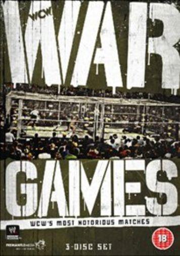 WWE: War Games - WCW's Most Notorious Matches DVD NEW