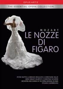 Mozart - Le Nozze Di Figaro (Region Free DVD, 2013, 2-Disc Set)  NEW