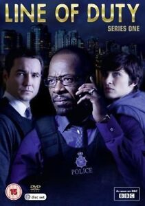 Line Of Duty Series 1  NEW 2 DVD SET Martin Compston