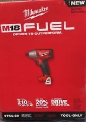 "Milwaukee 2754-20 M18 FUEL 3/8"" Compact Impact Wrench  Friction Ring New in Box"