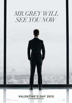 Fifty Shades Of Grey Movie Poster 24Inx36In Poster 24x36