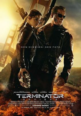 Terminator Genisys Movie Poster 24in x36in