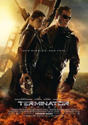 "Terminator Genisys Movie Poster Mini 11""X17"""