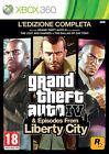 Grand Theft Auto IV Microsoft Xbox 360 PAL Video Games